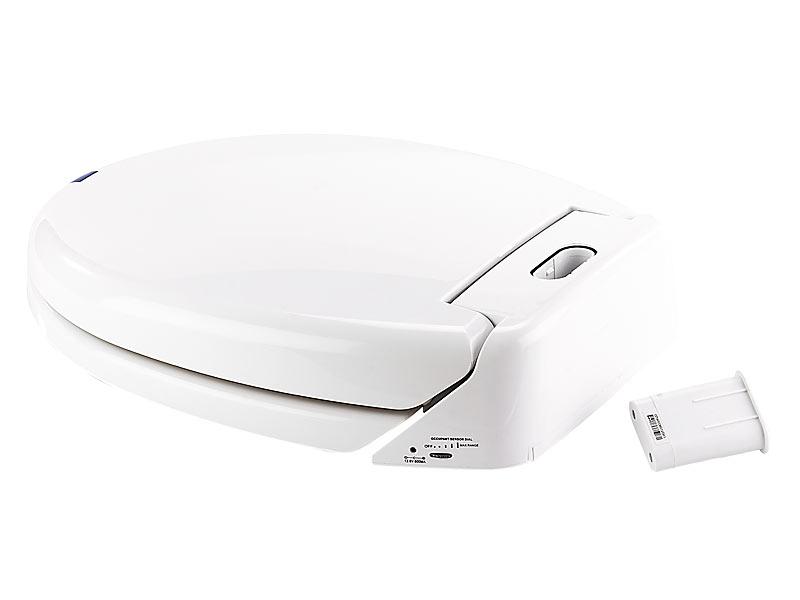 infactory wc deckel automatischer wc sitz mit bewegungssensor soft absenken klobrille. Black Bedroom Furniture Sets. Home Design Ideas