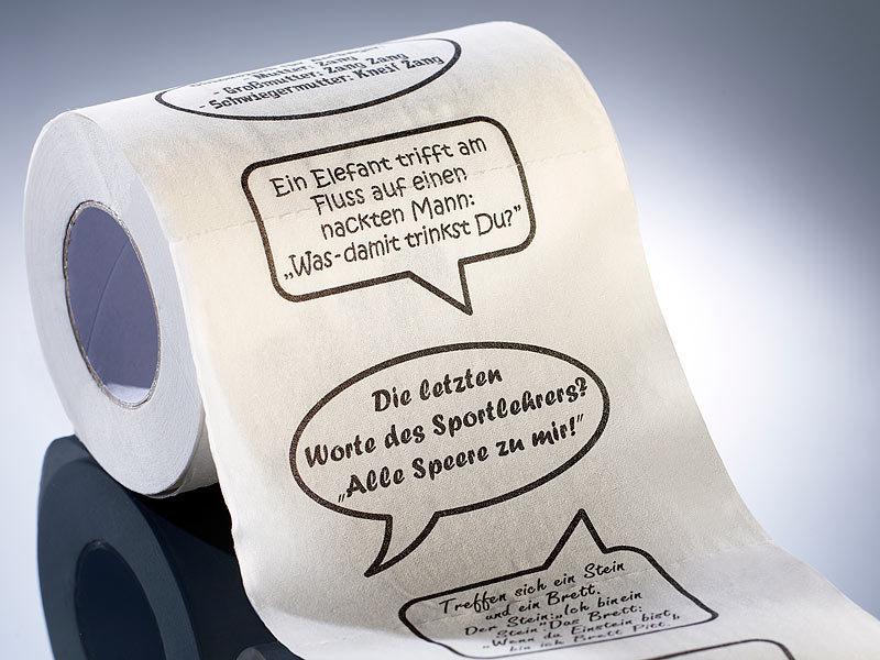 Toilettenpapier Lustig