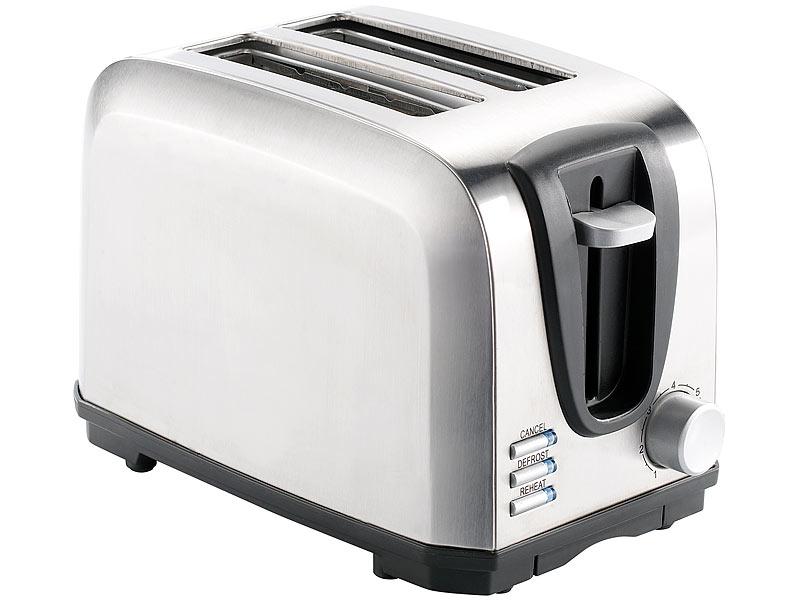 edelstahl toaster 2 scheibe preis vergleich 2016. Black Bedroom Furniture Sets. Home Design Ideas