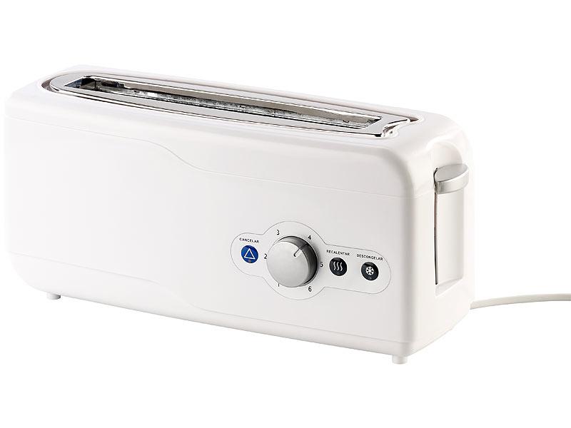 Toaster langschlitz weiß
