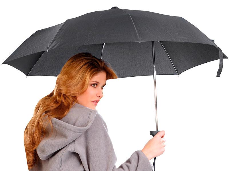 pearl umbrella ergonomischer regenschirm mit versetztem