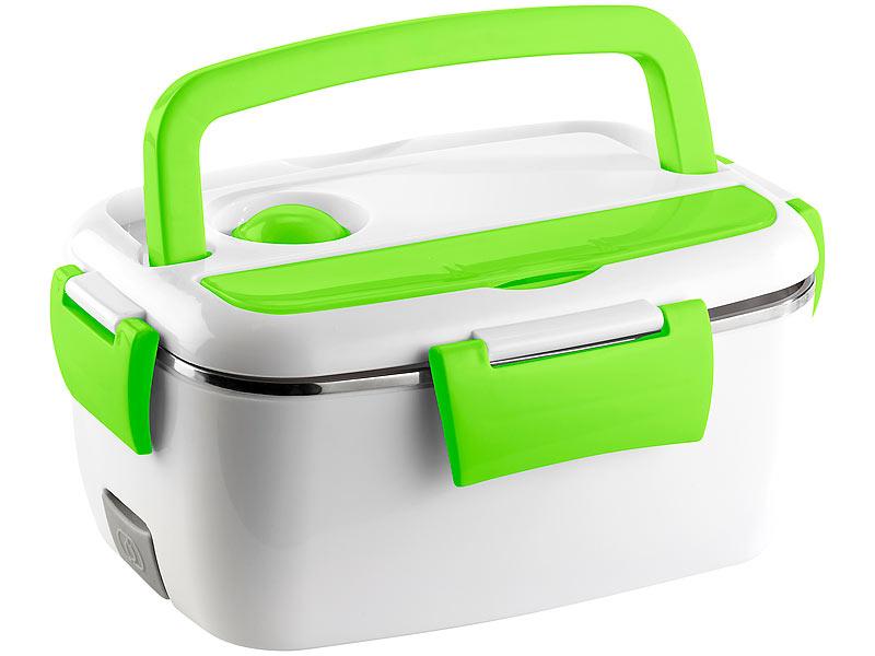 rosenstein s hne w rmebox elektrische edelstahl thermo lunchbox 2 f cher und l ffel 40 watt. Black Bedroom Furniture Sets. Home Design Ideas
