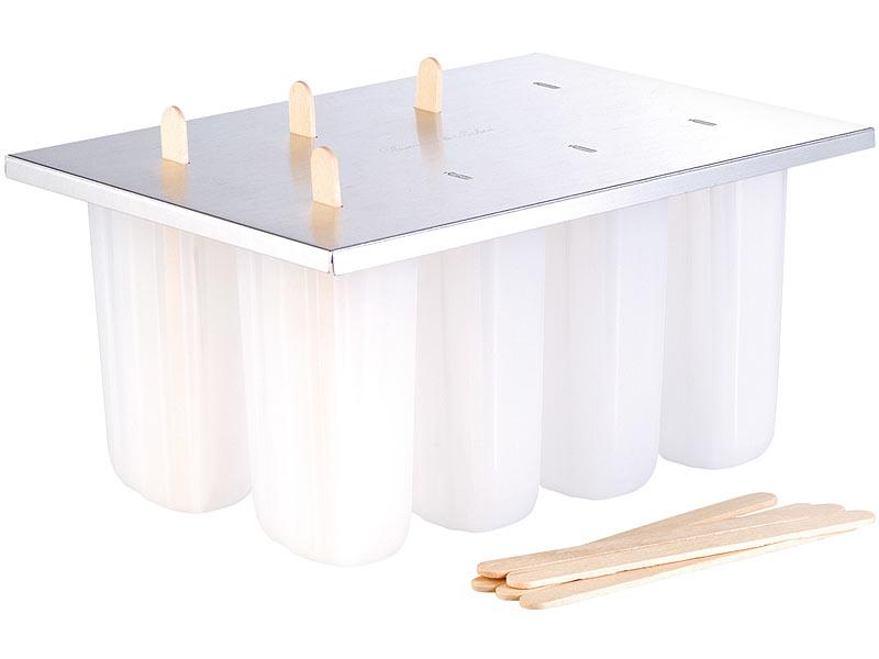 rosenstein s hne eis am stiel f rmchen premium eis am stiel bereiter mit 8 eisformen und. Black Bedroom Furniture Sets. Home Design Ideas