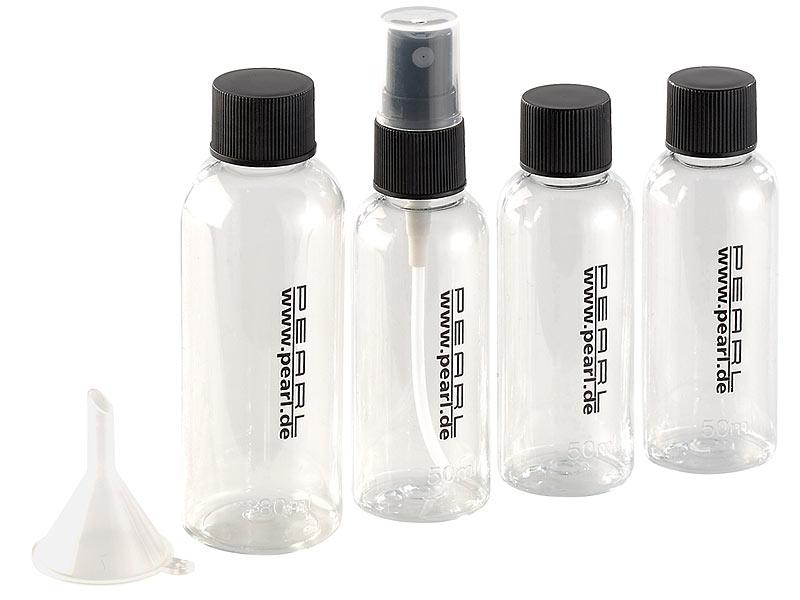 pearl reiseset reise rei verschluss tasche mit 4 flaschen. Black Bedroom Furniture Sets. Home Design Ideas