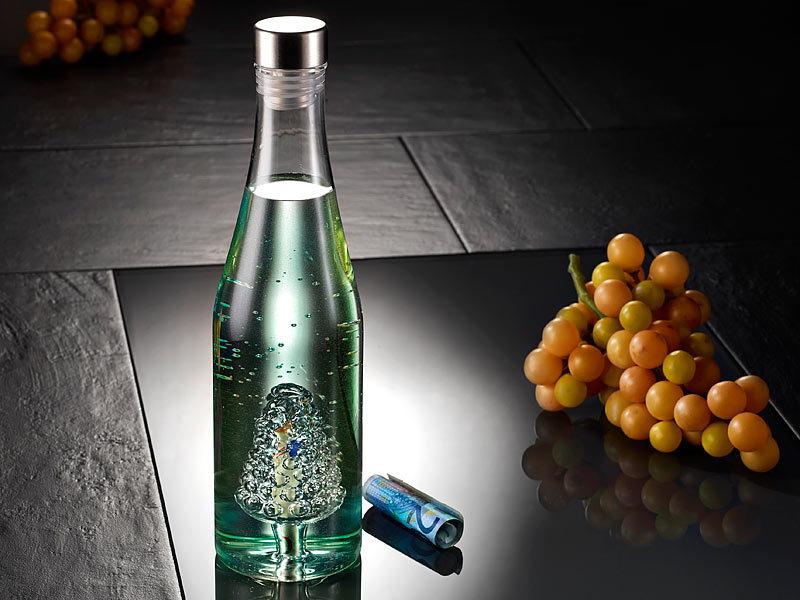 cucina di modena glas trinkflasche geschenkflaschen set 2 teilig geschenke flasche f r geld. Black Bedroom Furniture Sets. Home Design Ideas