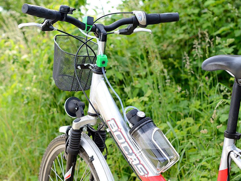 Semptec Klimaanlage für Fahrrad: Sprühnebler fürs Fahrrad mit ...