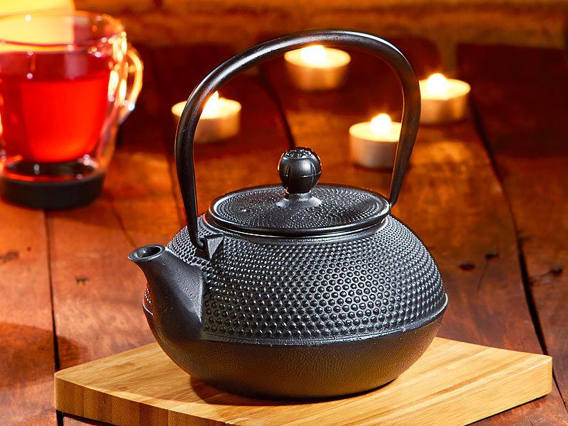 Rosenstein & Söhne Teapot: Asiatische Teekanne Mit