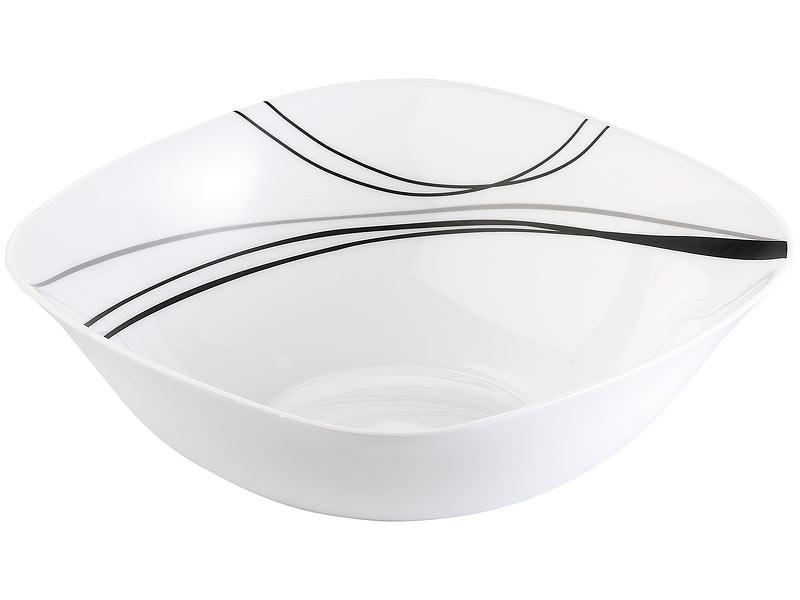 rosenstein s hne geschirrset opalglas tafelservice mit. Black Bedroom Furniture Sets. Home Design Ideas