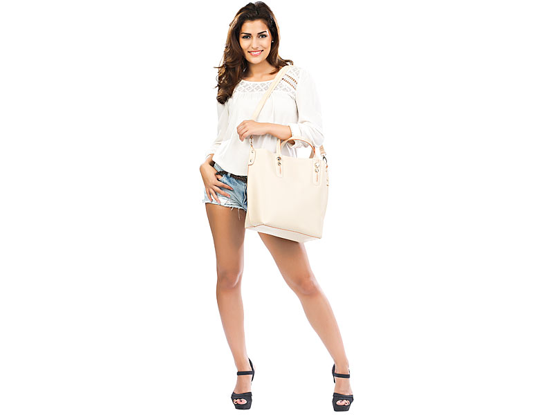 28688944d9d15 Carlo Milano Handtaschen  Damenhandtasche mit herausnehmbarer ...