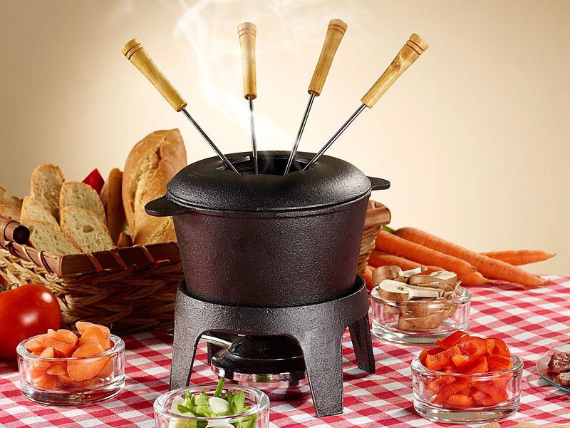 rosenstein s hne fondueset fondue set f r 6 personen. Black Bedroom Furniture Sets. Home Design Ideas