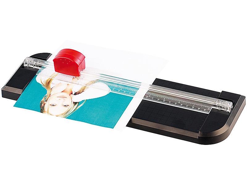 A4 Präzision Papierschneider Fotoschneider Schneidemaschine Papier Blatt Blätter