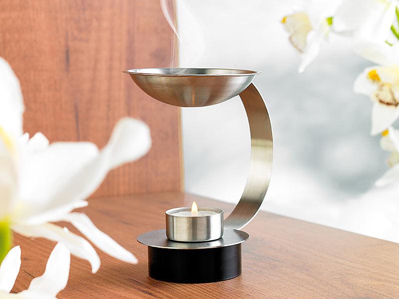 britesta duft llampe edelstahl duftlampe inklusive. Black Bedroom Furniture Sets. Home Design Ideas