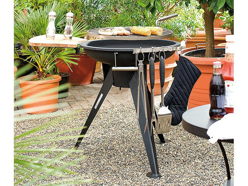 grill mit schwenkbarem rost kleinster mobiler gasgrill. Black Bedroom Furniture Sets. Home Design Ideas