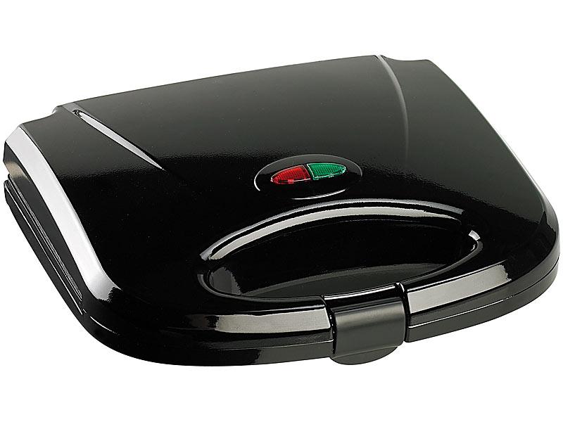 Antihaft-beschichteter Sandwich-Toaster für 4 Portionen, 750 Watt
