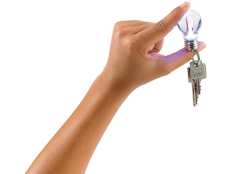 Lunartec Schlüsselanhänger-Lampe \