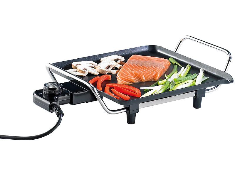 rosenstein s hne teppanyaki elektro grill mit antihaftbeschichtung. Black Bedroom Furniture Sets. Home Design Ideas