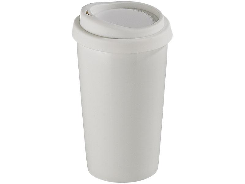 rosenstein s hne keramikbecher coffee to go becher aus keramik silikondeckel 250 ml. Black Bedroom Furniture Sets. Home Design Ideas