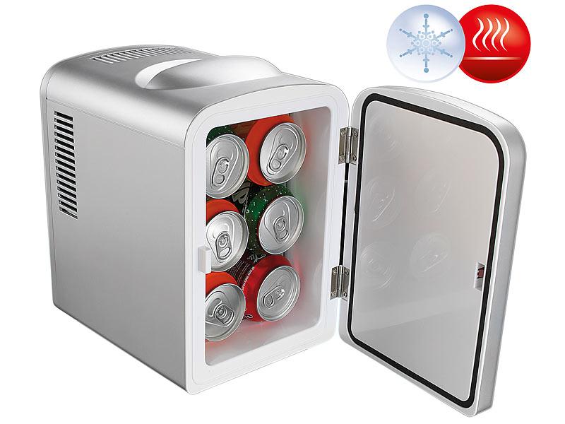 Rosenstein & Söhne Mini Kühlschrank 12V: Mobiler Mini-Kühlschrank ...