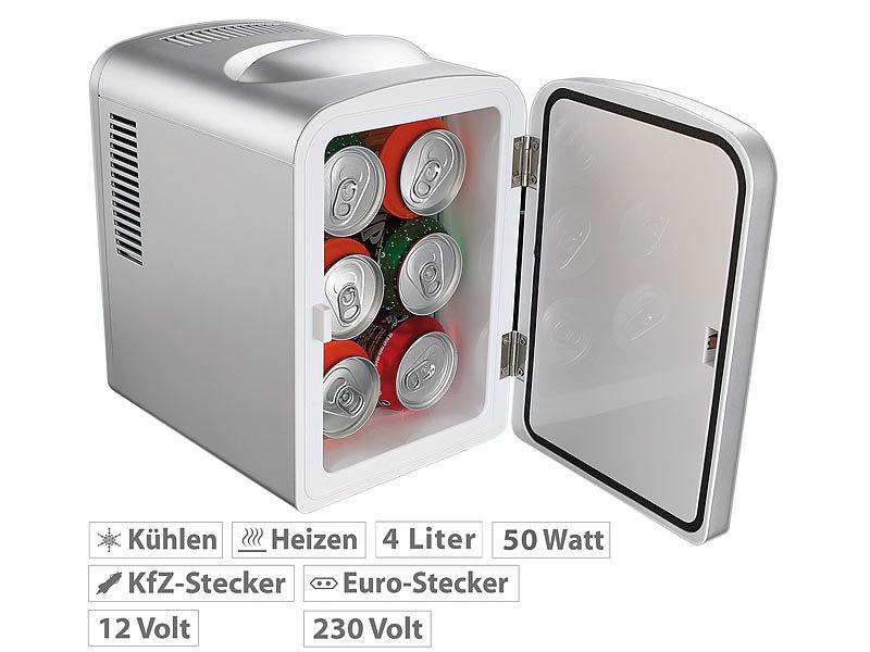 Mini Kühlschrank Edelstahl : Rosenstein söhne mini kühlbox mobiler mini kühlschrank mit