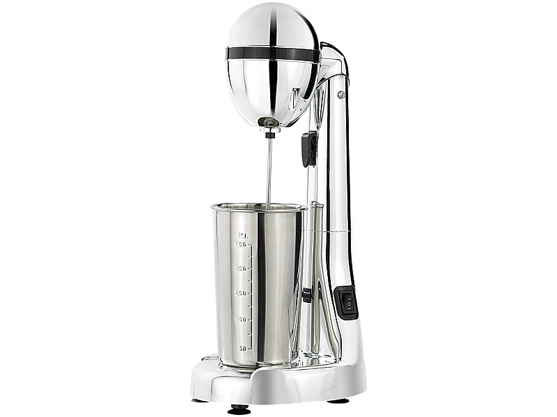 rosenstein s hne barmixer elektrischer drink mixer mit edelstahl becher 100 w u min. Black Bedroom Furniture Sets. Home Design Ideas
