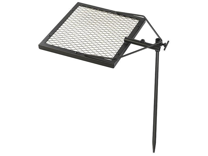 rosenstein s hne mobiler grillrost mit erdspie 36 x 36 cm. Black Bedroom Furniture Sets. Home Design Ideas