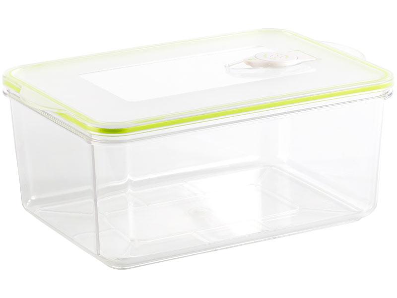 rosenstein s hne vakuumierbox vakuumier box mit deckel f r handvakuumierer 2 6 liter 25 x. Black Bedroom Furniture Sets. Home Design Ideas