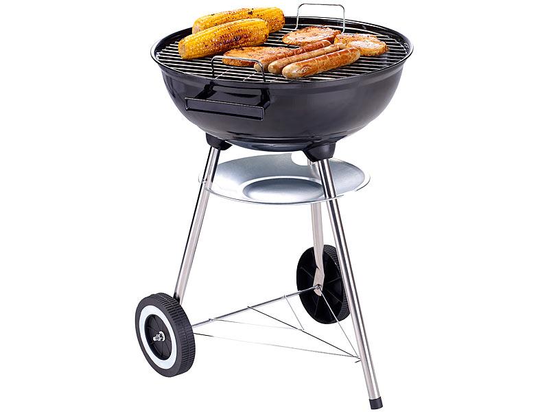 rosenstein s hne barbecue grill kugelgrill f r direktes. Black Bedroom Furniture Sets. Home Design Ideas