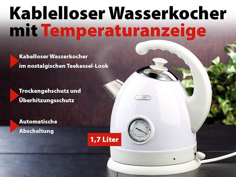 wasserkocher mit digitaler temperaturanzeige