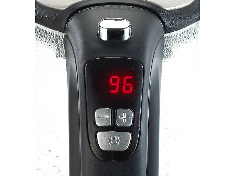Rosenstein & Söhne GlasWasserkocher WSK250tmp mit  ~ Wasserkocher Mit Temperaturwahl
