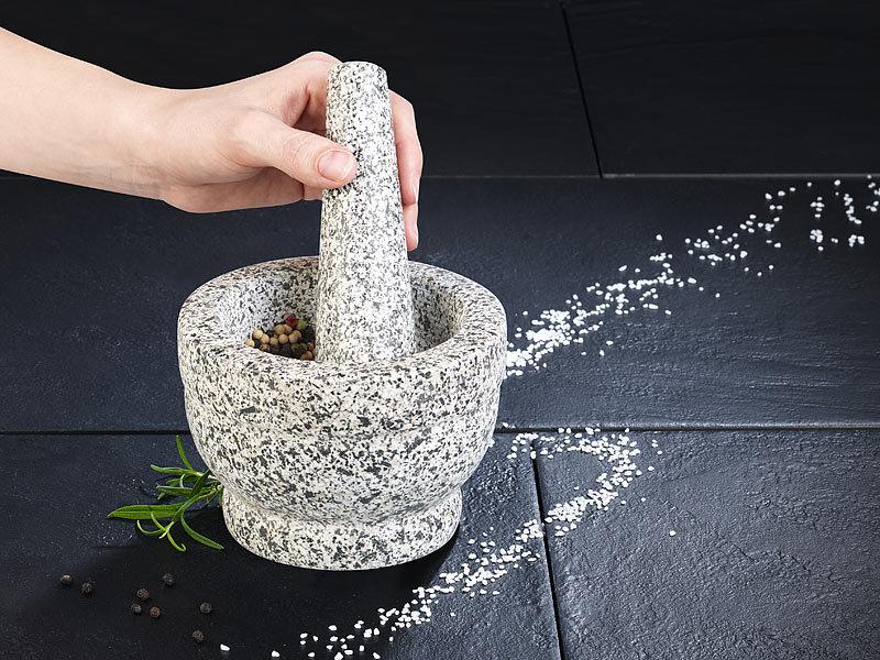 rosenstein s hne granit m rser mit st el. Black Bedroom Furniture Sets. Home Design Ideas