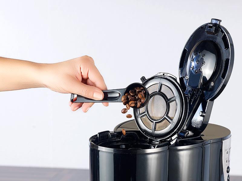 rosenstein s hne kaffeemaschine kf 615 mit mahlwerk und timer 1 5liter 12 tassen. Black Bedroom Furniture Sets. Home Design Ideas