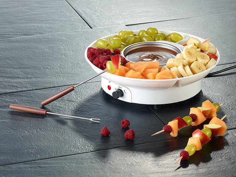 rosenstein s hne schokoladenfondue elektrisches schokoladen fondue f r 2 personen 15 watt. Black Bedroom Furniture Sets. Home Design Ideas