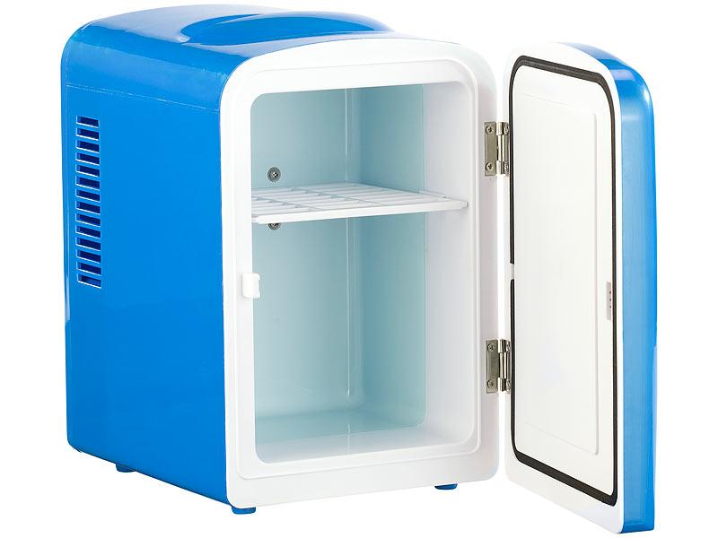 Rosenstein & Söhne Dosenkühlschrank: Mini-Kühlschrank mit Warmhalte ...