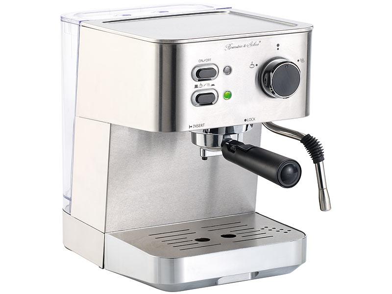 cucina di modena edelstahl siebtr gerespressomaschine. Black Bedroom Furniture Sets. Home Design Ideas