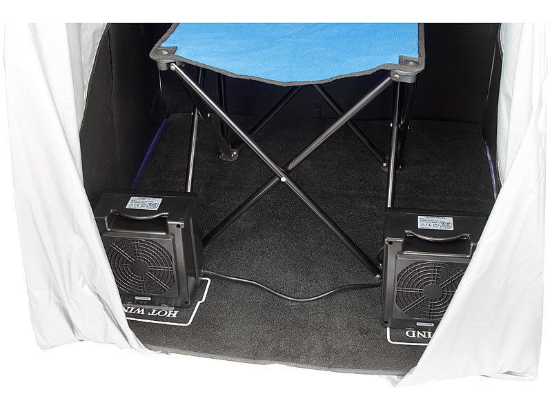 newgen medicals mini infrarotkabine tragbare infrarot sauna v2 mit 2 heizern 1600 watt. Black Bedroom Furniture Sets. Home Design Ideas