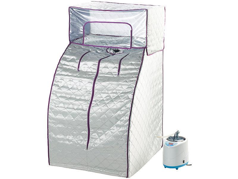 newgen medicals sauna heim premium dampfsauna stabiles nylon kopfabdeckung 900 w heimsauna. Black Bedroom Furniture Sets. Home Design Ideas