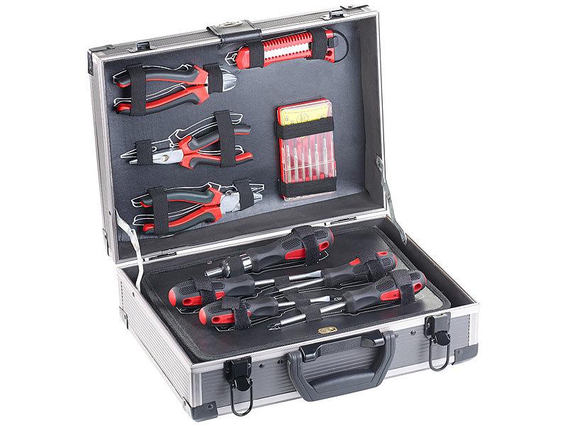 Agt Werkzeugkoffer Bestuckt Alu Verstarkter Werkzeugkoffer Wzk 645