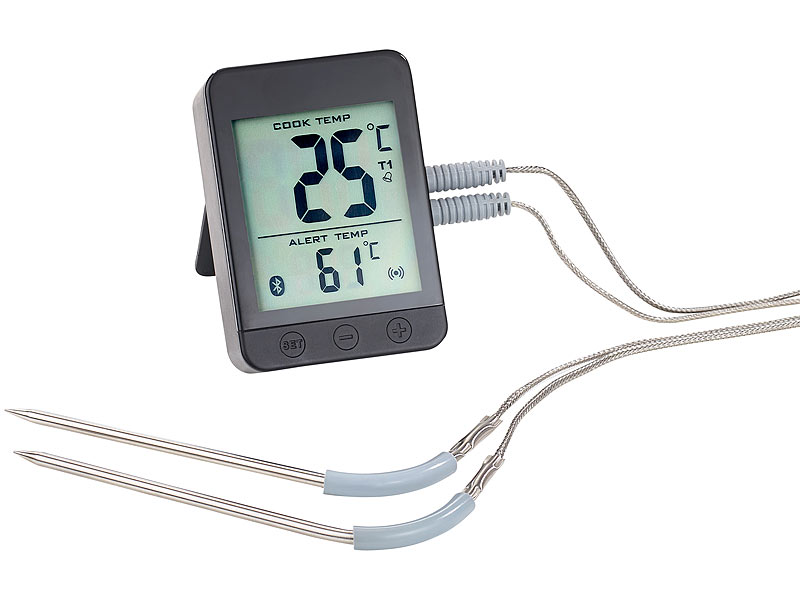 rosenstein s hne bratenthermometer grillthermometer m bluetooth android ios app 2. Black Bedroom Furniture Sets. Home Design Ideas