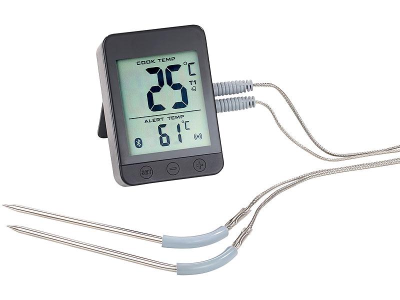 rosenstein s hne fleischthermometer grillthermometer m. Black Bedroom Furniture Sets. Home Design Ideas
