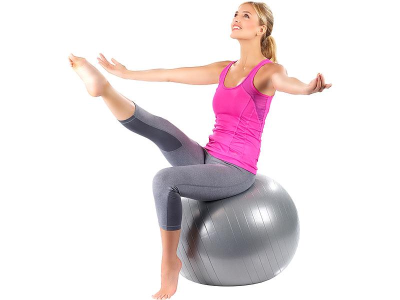 PEARL sports Rückenschonender Gymnastik Fitness und