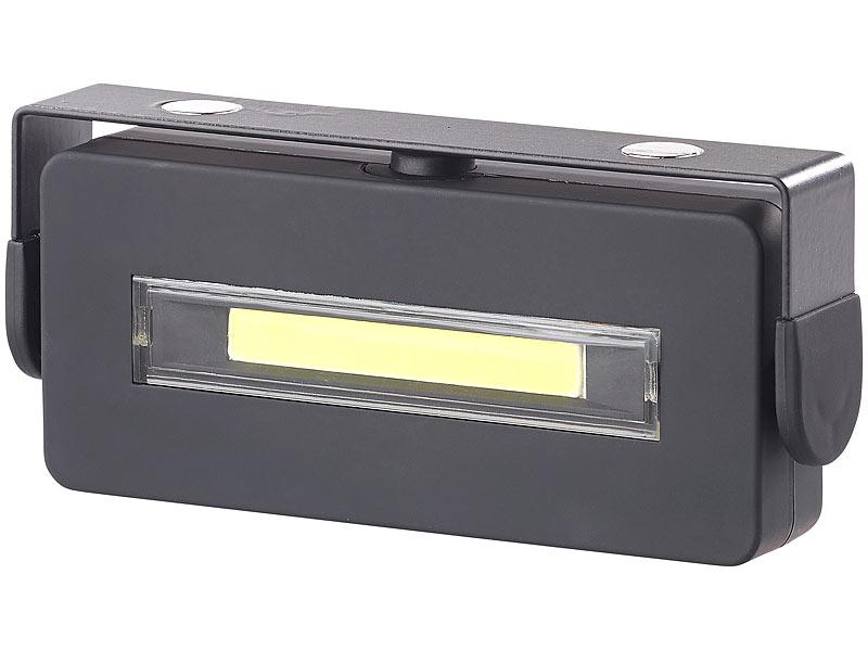 lunartec led arbeitslampe schwenkbare arbeitsleuchte mit. Black Bedroom Furniture Sets. Home Design Ideas