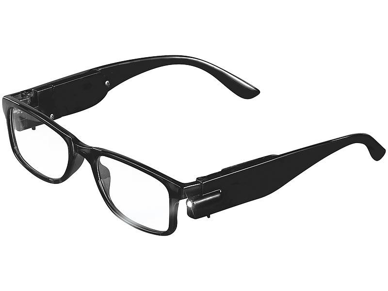 Dauerhafter Service neue Kollektion Einkaufen PEARL Brille ohne Stärke: Modische Brille mit integriertem ...