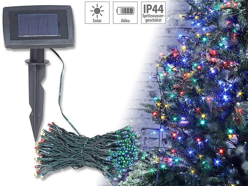 lunartec solar beleuchtung 4 farbige solar led. Black Bedroom Furniture Sets. Home Design Ideas