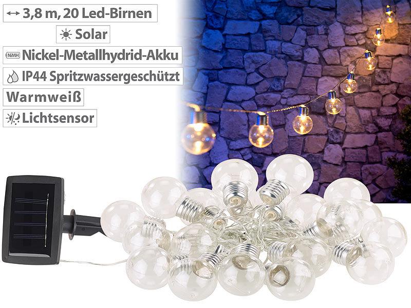 3er lampen lichterkette