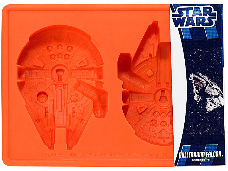 star wars silikon form millennium falcon. Black Bedroom Furniture Sets. Home Design Ideas