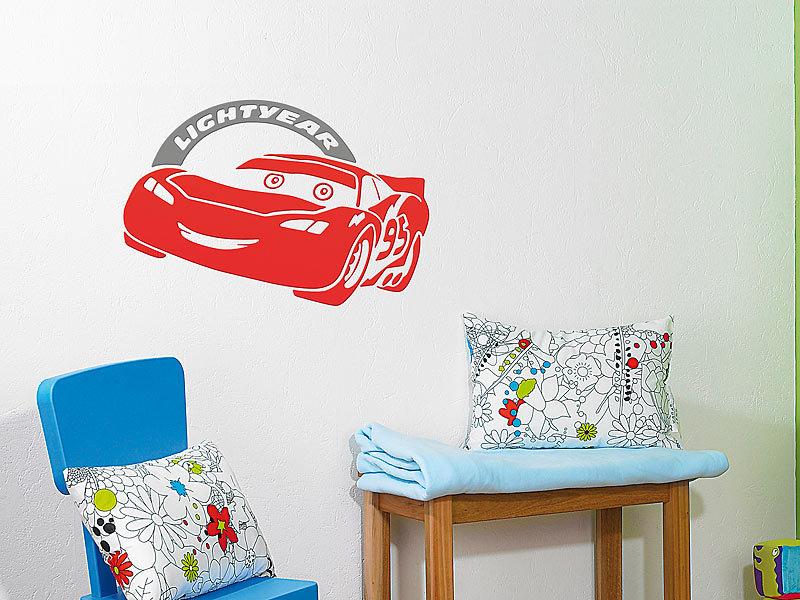 wand dekorfolie disney pixar cars decostix 3d wandsticker zum bermalen wanddeko. Black Bedroom Furniture Sets. Home Design Ideas