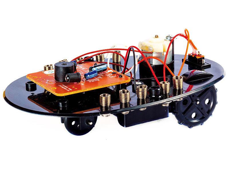 franzis roboter selber bauen und erleben bau deinen eigenen roboter. Black Bedroom Furniture Sets. Home Design Ideas