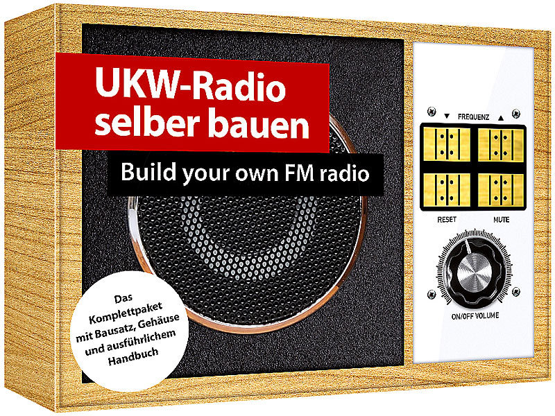 Franzis elektrotechnik bauk sten ukw fm radio zum for Nc elektrotechnik