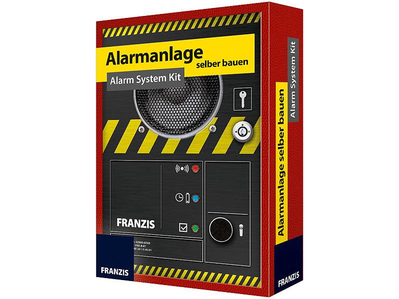 franzis alarmanlage selber bauen alarm system kit. Black Bedroom Furniture Sets. Home Design Ideas