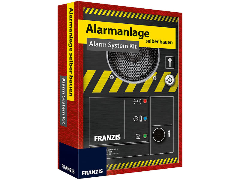 Bekannt FRANZIS Baukasten Lernpakete: Alarmanlage selber bauen - Alarm WL07